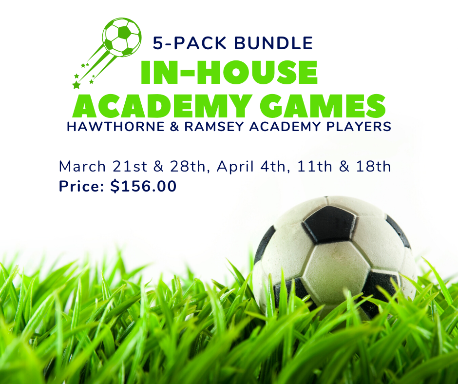 Copy of Hawthorne & Ramsey Academy Players March 21st & 28th, April 4th, 11th & 18th Price_ $156.00